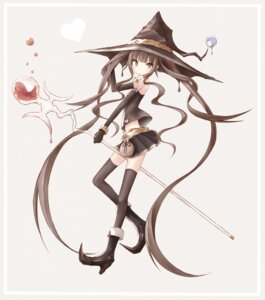 Rating: Safe Score: 35 Tags: buran thighhighs witch User: tbchyu001