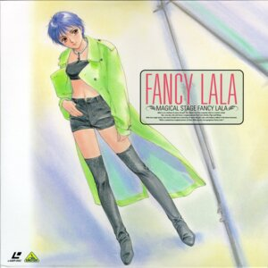 Rating: Safe Score: 5 Tags: disc_cover fancy_lala mahou_no_stage_fancy_lala shinohara_miho takada_akemi thighhighs User: Radioactive