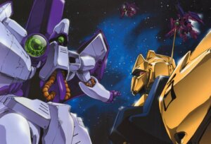 Rating: Safe Score: 7 Tags: gundam gundam_zz mecha zeta_gundam User: Radioactive