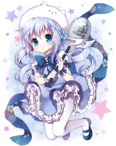 Rating: Safe Score: 58 Tags: dress gochuumon_wa_usagi_desu_ka? kafuu_chino mauve pantyhose tippy_(gochuumon_wa_usagi_desu_ka?) User: Mr_GT