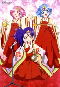 Rating: Safe Score: 17 Tags: dorothy_west hara_shoji leona_west miko pripara toudou_shion trap User: drop