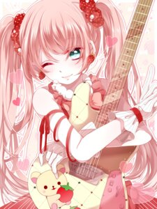 Rating: Safe Score: 35 Tags: guitar nono_(artist) User: animeprincess