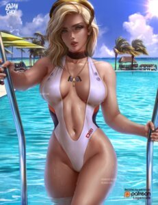 Rating: Safe Score: 49 Tags: logan_cure mercy_(overwatch) overwatch swimsuits watermark wet User: BattlequeenYume