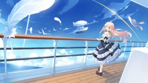 Rating: Safe Score: 41 Tags: ame_no_uta dress ia_(vocaloid) vocaloid User: RaulDJ747
