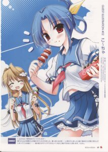Rating: Safe Score: 8 Tags: _summer ebizuka_shino hatano_konami hook ko~cha seifuku User: admin2