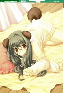 Rating: Safe Score: 16 Tags: animal_ears inugami_naoyuki inumimi megane User: cheese