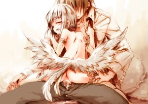 Rating: Explicit Score: 19 Tags: cum kaziya loli naked sex thighhighs wings User: petopeto