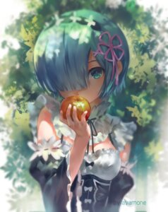 Rating: Safe Score: 80 Tags: avamone cleavage maid re_zero_kara_hajimeru_isekai_seikatsu rem_(re_zero) signed User: Mr_GT
