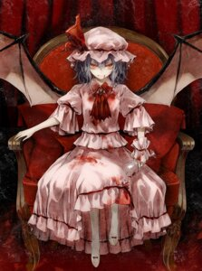 Rating: Safe Score: 21 Tags: blood minakata_sunao remilia_scarlet touhou wings User: Radioactive