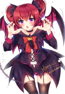 Rating: Safe Score: 24 Tags: aisha_(elsword) dress elsword halloween stockings tagme thighhighs wings User: BattlequeenYume