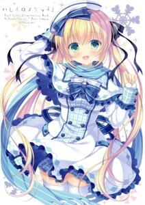 Rating: Questionable Score: 26 Tags: allegro_mistic dress skirt_lift tagme takano_yuki thighhighs User: kiyoe