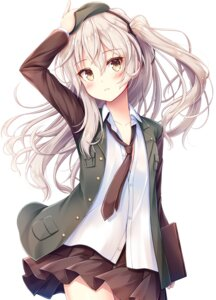 Rating: Safe Score: 51 Tags: akashio girls_und_panzer no_bra open_shirt shimada_arisu skirt_lift uniform User: john.doe
