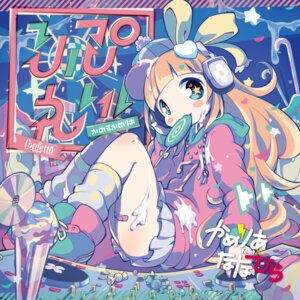 Rating: Safe Score: 20 Tags: bandaid cream disc_cover headphones maako User: blooregardo