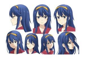 Rating: Safe Score: 8 Tags: character_design expression hatano_kanna kono_yo_no_hate_de_koi_wo_utau_shoujo_yu-no seifuku tagme User: saemonnokami