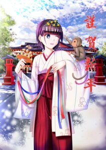 Rating: Safe Score: 16 Tags: miko shrine zaregotodukainodesi User: even4102