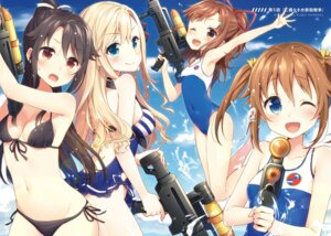 Rating: Questionable Score: 105 Tags: bikini cleavage digital_version gun high_school_fleet irizaki_mei masuishi_kinoto misaki_akeno munetani_mashiro swimsuits wilhelmina_braunschweig_ingenohl_friedeburg User: AltY