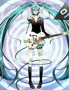 Rating: Safe Score: 6 Tags: cdl guitar hatsune_miku vocaloid User: Radioactive
