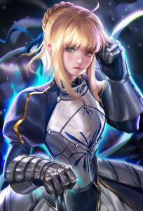 Rating: Safe Score: 51 Tags: armor dress fate/stay_night saber sakimichan User: charunetra