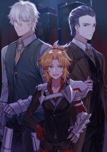 Rating: Safe Score: 5 Tags: agravain_(fate/grand_order) armor business_suit fate/grand_order gawain_(fsn) mordred_(fate) tagme User: Radioactive