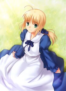 Rating: Safe Score: 19 Tags: fate/stay_night higurashi_ryuuji saber type-moon User: omegakung