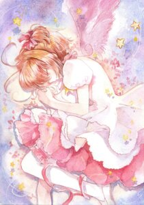 Rating: Safe Score: 38 Tags: 1044kiro card_captor_sakura kinomoto_sakura thighhighs wings User: mula3