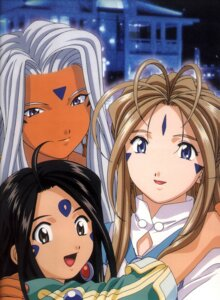 Rating: Safe Score: 5 Tags: ah_my_goddess belldandy skuld urd User: minakomel