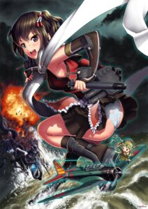 Rating: Questionable Score: 29 Tags: ass fairy_(kancolle) kantai_collection number10_(hagakure) pantsu sendai_(kancolle) thighhighs User: Mr_GT