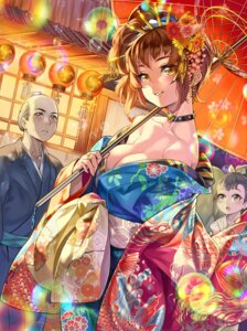 Rating: Safe Score: 19 Tags: cleavage furyou_michi_~gang_road~ kimono no_bra open_shirt umbrella xil User: Mr_GT