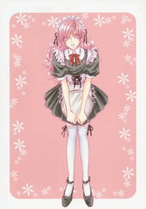 Rating: Safe Score: 6 Tags: crossdress maid male princess_princess thighhighs tsuda_mikiyo yutaka_mikoto User: charunetra