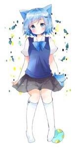 Rating: Safe Score: 26 Tags: animal_ears nekomimi seifuku tsukiyo_(skymint) User: KazukiNanako