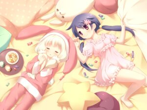 Rating: Safe Score: 27 Tags: cafe_sourire cuffs ogiwara_kyouko pajama suimya wallpaper yukishita_miyuri User: Kalafina