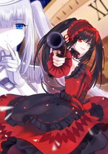 Rating: Safe Score: 16 Tags: date_a_live dress gothic_lolita gun heterochromia lolita_fashion tokisaki_kurumi User: kiyoe