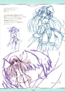 Rating: Safe Score: 5 Tags: densuke. sketch tanihara_natsuki thighhighs wings User: blooregardo