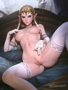 Rating: Explicit Score: 60 Tags: elf naked nipples pointy_ears princess_zelda pubic_hair pussy tarakanovich the_legend_of_zelda thighhighs uncensored User: Mr_GT