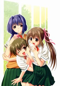 Rating: Safe Score: 8 Tags: akaiito hal hatou_kei nara_youko seifuku success tougou_rin User: blooregardo