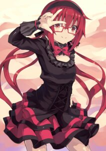 Rating: Safe Score: 34 Tags: dress joukamachi_no_dandelion megane normaland sakurada_akane User: Radioactive