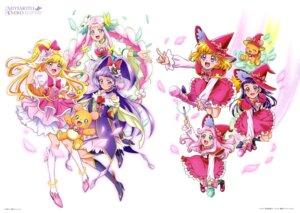 Rating: Safe Score: 7 Tags: asahina_mirai haa-chan_(precure) heels izayoi_riko mahou_girls_precure! miyamoto_emiko mofurun_(precure) pretty_cure witch User: drop