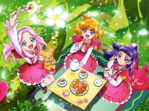 Rating: Safe Score: 11 Tags: asahina_mirai haa-chan_(precure) izayoi_riko mahou_girls_precure! mofurun_(precure) pretty_cure seifuku weapon User: drop