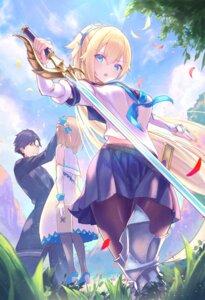 Rating: Safe Score: 27 Tags: armor dress hayataku1234 heels pantyhose seifuku sword User: Mr_GT