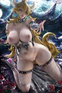 Rating: Explicit Score: 167 Tags: bottomless bowsette breasts fishnets heels horns new_super_mario_bros._u_deluxe nipples no_bra pointy_ears pussy sakimichan tail thighhighs torn_clothes uncensored User: BattlequeenYume