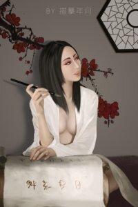 Rating: Questionable Score: 5 Tags: no_bra open_shirt tagme User: Qingbilin