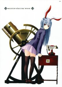 Rating: Safe Score: 26 Tags: animal_ears bunny_ears lunade_luna nabeshima_tetsuhiro reisen_udongein_inaba thighhighs touhou User: fireattack