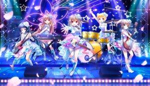 Rating: Safe Score: 25 Tags: asahina_momoko etou_kurumi garter girlfriend_(kari) guitar heels kazemachi_haruka kurokawa_nagiko ohara_tometa sakura_koharu yomogida_sumire User: Mr_GT