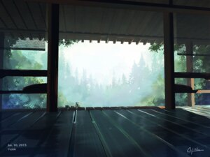 Rating: Safe Score: 33 Tags: landscape waisshu_(sougyokyuu) User: Noodoll