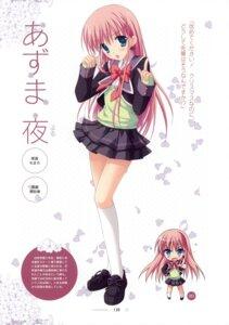 Rating: Safe Score: 34 Tags: azuma_yoru chimaro hatsuyuki_sakura saga_planets seifuku User: crim
