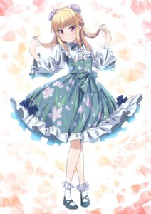 Rating: Safe Score: 25 Tags: dress iijima_yun makicha new_game! User: saemonnokami