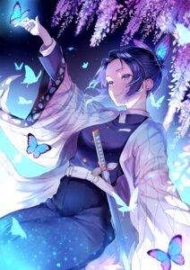 Rating: Safe Score: 36 Tags: ggatip japanese_clothes kimetsu_no_yaiba kochou_shinobu sword uniform User: mash