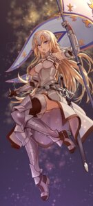 Rating: Safe Score: 37 Tags: armor fate/grand_order heels jeanne_d'arc jeanne_d'arc_(fate) sword thighhighs yewang19 User: Mr_GT