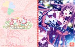Rating: Safe Score: 8 Tags: christmas guitar hinata_mutsuki natsume_otona skyfish wallpaper yotsuiro_passionato! User: jack09335