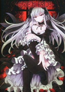 Rating: Safe Score: 54 Tags: cleavage dress gothic_lolita heels lolita_fashion rozen_maiden suigintou tousen tousen_soudou User: Nepcoheart